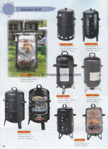 Charcoal Grills and Smokers pictures & photos