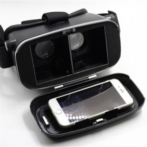 High Quality 3D Virtual Reality Google Cardboard with Bluetooth Remote Controller pictures & photos
