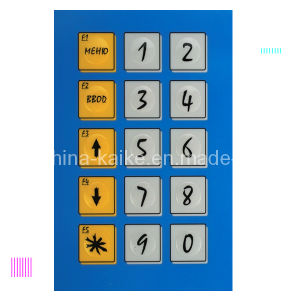 Tag Membrane Switch Keypad pictures & photos