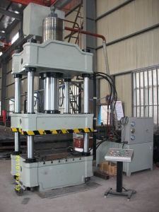 PLC System 500t 4-Column Sheet Metal Hydraulic Press Machine pictures & photos