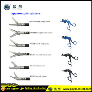 Reusable 5mm Laparoscopic Scissors with CE Certificate pictures & photos