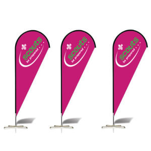 Flying Banner for Beach, Teardrop Outdoor Beach Flag pictures & photos