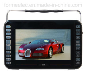 9 Inch USB SD Player Portable DVD with TV ISDB-T pictures & photos