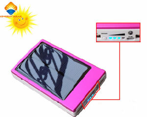 High Quality 10000mAh Solar Power Bank pictures & photos
