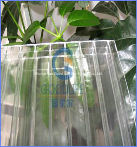 Low Price Colored Hollow Lexan Polycarbonate Sheet for Greenhouse pictures & photos