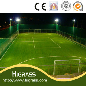 Monofilament Yarn Artificial Grass for Football Field Carpet pictures & photos