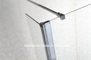 Simple Design Bath Shower Screen with Supporting Bar (LT-9-3590-C) pictures & photos