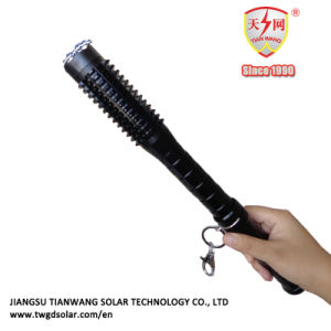 High Power Aluminum Alloy Stun Guns Baton with LED Flashlight pictures & photos