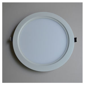 18W CE 225mm Round Anti-Glare Cool White LED Panel Light