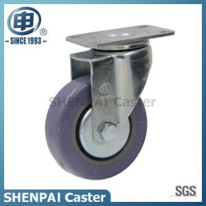 "5"" Grey Polythene Swivel Industrial Caster Wheel pictures & photos"