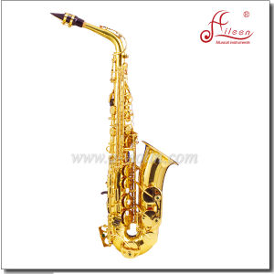 Range Low Bb to High F# Key Yellow Brass Jinbao Alto Saxophone pictures & photos