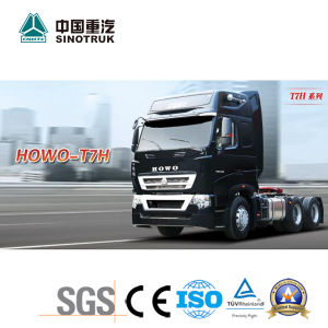 Low Price HOWO T7h Tractor Truck with 430HP pictures & photos
