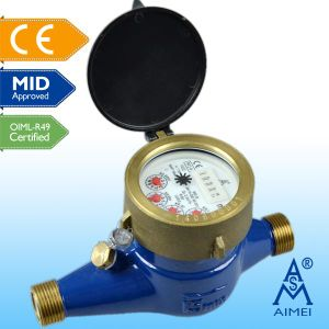 MID Certificated Multi Jet Dry Dial Brass Water Meter pictures & photos
