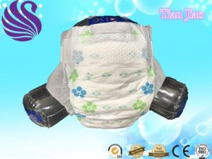 Manufacturer Supplier High Quality Super Soft Disposable Cotton Baby Diaper pictures & photos
