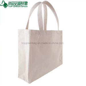 Reusable Wholesale Promotional Plain Blank Cotton Shopping Tote Bags pictures & photos