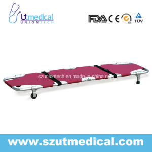 Ydc-1A2 Double Foldaway Stretcher with Wheels