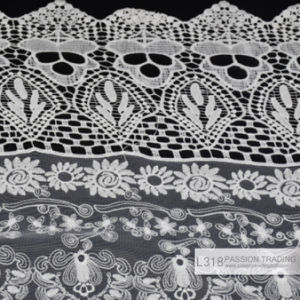 Lace, Garment Accessories Lace Crochet Woven Cotton Fabric Lace, L318