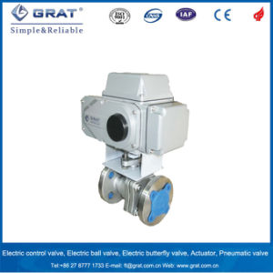 Stainless Steel Electric Motorized Ball Valve pictures & photos