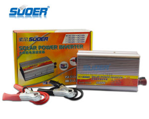 Suoer Factory 500W DC 12V to AC 110V Modified Wave Power Inverter pictures & photos