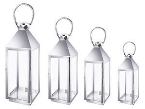 4PCS Set of Stainless Steel Lantern pictures & photos