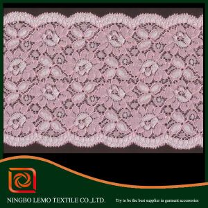 Wholesale White Narrow Chemical Lace Trim pictures & photos