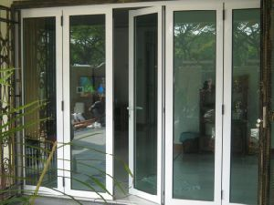 Strong Aluminum Bi Folding Door with Double Glazing (Australia Standard)