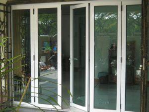 Strong Aluminum Bi Folding Door with Double Glazing (Australia Standard)