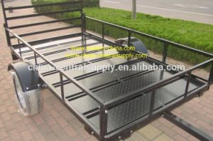 Factory Made Galvanized 2.5m on-Road ATV Trailer Ce250 pictures & photos
