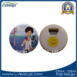 Custom Printed Plastic Bottle Opener with Promotion Gift pictures & photos