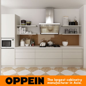 South Africa Project Lacquer Wood Large Modern Kitchen Cabinets (OP15-L26) pictures & photos