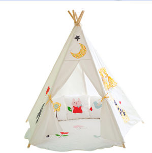 Lovely Pentagon Teepee Children Camping Playing Tent (MW6022) pictures & photos