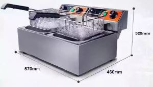 Commercial Stainless Steel Electric Deep Single Double Fryer pictures & photos