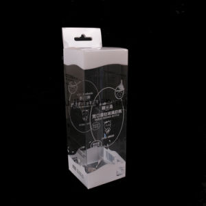 PVC/PP/Pet Plastic Packaging Box for Baby Bottle