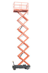 Scissor Type Elevating Platform (SJY0.5-6)