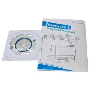 Wireless Waterproof IP Camera NVR Kit 4CH P2p CCTV DVR WiFi (MVT-K04T) pictures & photos