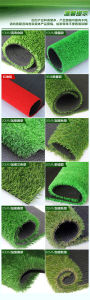 Landscaping Abrasion Resistant PE Monofilament Yarn Artificial Grass