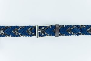 2016 New Design Fabric Rope with Cowhide Braided Leather Belt pictures & photos