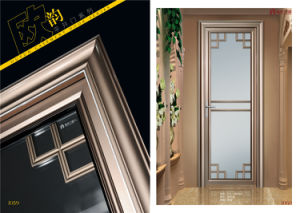 Top Quality Outwards Openable Aluminum Casement Door pictures & photos