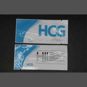Easy Use Home Pregnancy HCG Test Kit Strip Cassette Midstream pictures & photos