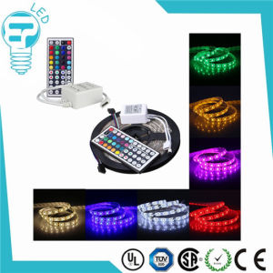5m 300 LED SMD 5050 Addressable RGB 44key IR Remote Controller LED Strip pictures & photos