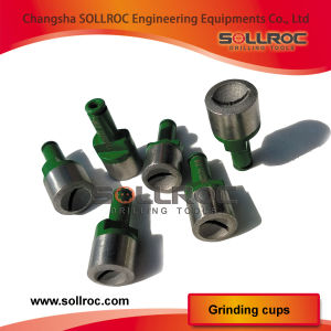 Diamond Grinding Cups for Sharpening Button Bits pictures & photos