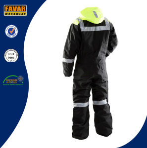 En471 Russia Winter Warm High Vis Coverall pictures & photos