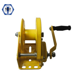Marine Winch 1200lbs Yellow Zinc pictures & photos