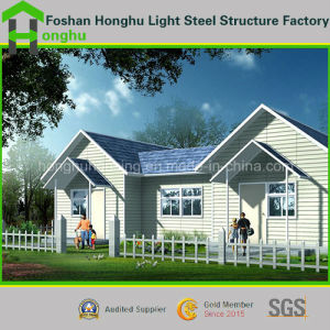 Prefabricated House Container House Steel House for Private Living pictures & photos
