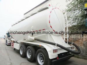 3 Axles Bulk Cement Concrete Tank Semi Trailer 30m3 pictures & photos
