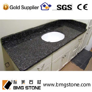 Competitive Price Blue Pearl Granite for Countertop Vanity Top