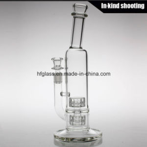 Made of Glass Water Shisha Hookah Glass Clear Pipe for Smoking Mobius Stereo Matrix Perc Borosilicate Bubbler pictures & photos
