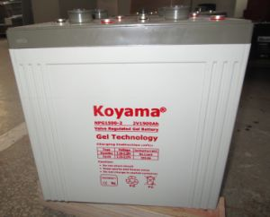 Big Size Long Life 2V 1500ah Solar System Gel Battery pictures & photos
