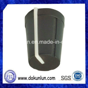 Pressional Customized Black Rotary Knob with White Pointer