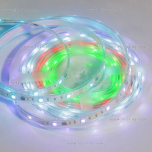 Silicone Tube SMD5050 RGB LED Flex Strip Light pictures & photos